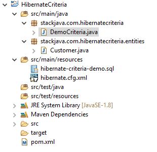 Code ví dụ Hibernate Criteria (Hibernate Criteria Queries vs Restrictions)