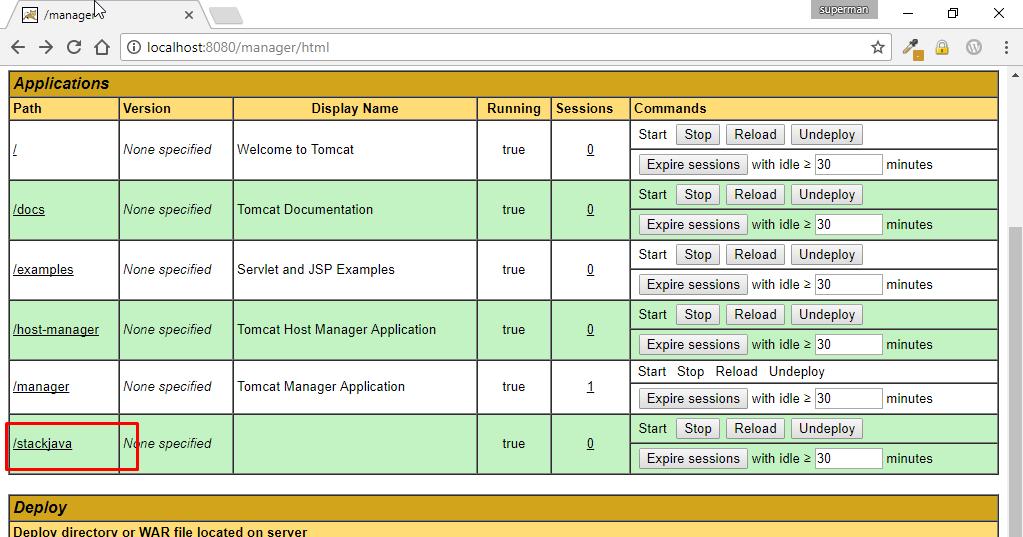 Triển Khai ứng dụng Java Web lên Tomcat