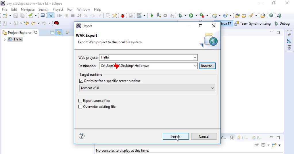 Triển Khai ứng dụng Java Web lên Tomcat - STACKJAVA