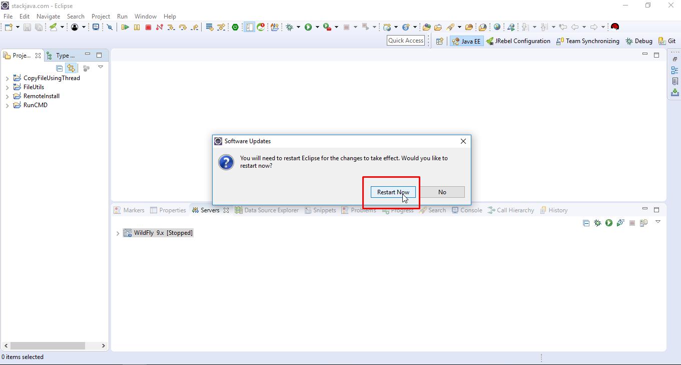 Lập trình giao diện Java Swing trên Eclipse với windowbuilder