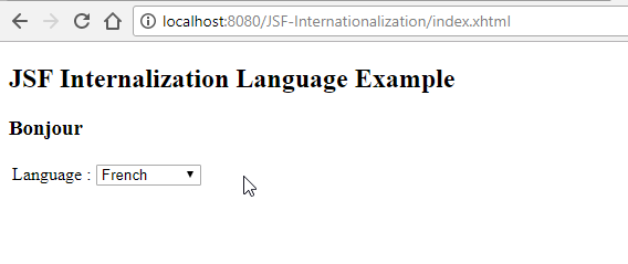 Series JSF – Đa ngôn ngữ (Internationalization) trong JSF Framework