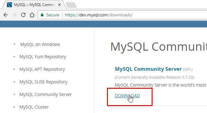 MySQL là gì? Cài đặt MySQL, MySQL Workbench trên Window