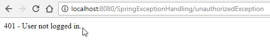 spring mvc status response