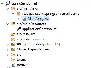 Code ví dụ gửi email - gmail với Spring