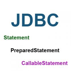 So sánh Statement với PreparedStatement, CallableStatement trong JDBC - Java