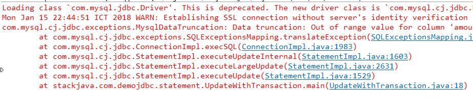 Hướng dẫn Java JDBC: Transaction là gì? Code ví dụ transaction với JDBC