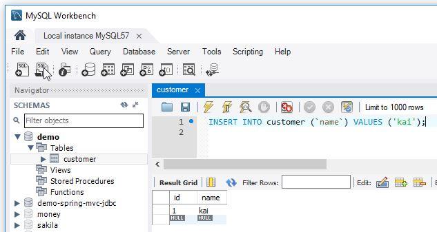 Thiết lập, Reset giá trị, column tự tăng trong MySQL