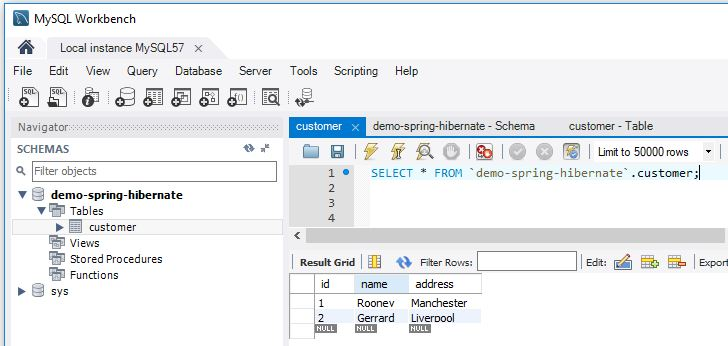 Spring Hibernate - Giới thiệu Spring ORM, Code ví dụ Spring Hibernate