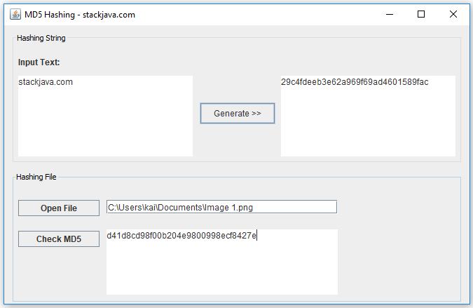 MD5 là gì? Code ví dụ MD5 với Java