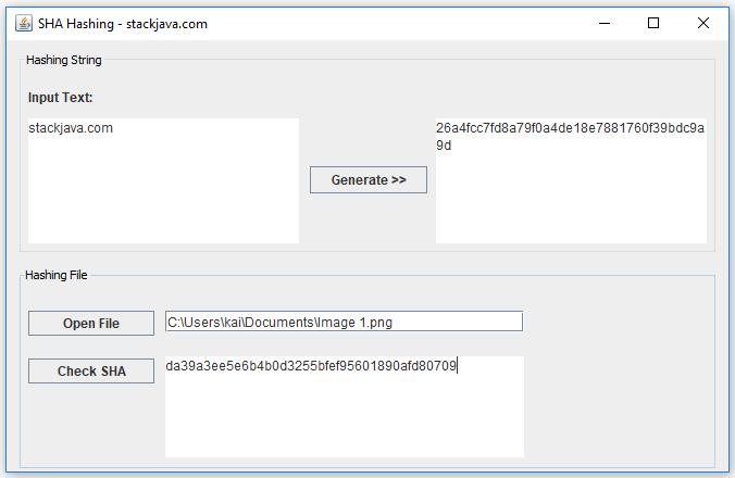 SHA là gì? Code ví dụ SHA1, SHA2 với Java