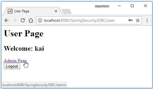 spring security taglib