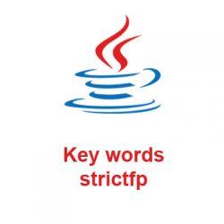 strictfp là gì, Từ khóa strictfp trong Java, ví dụ