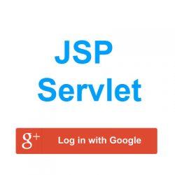 Ví dụ jsp servlet login bằng tài khoản google