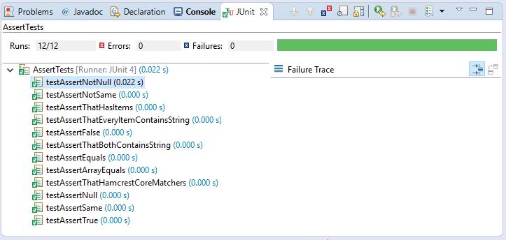 Assertions là gì? Code ví dụ JUnit với Assertions