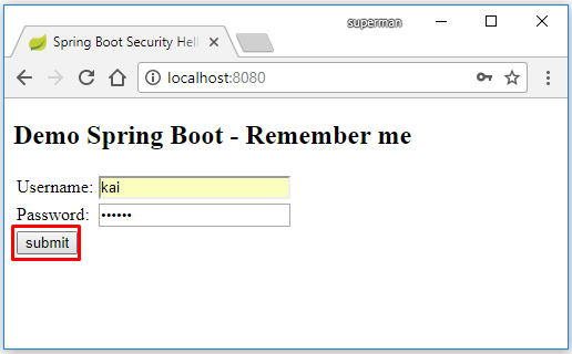 Demo Spring Boot Concurrent Session Control/ Max Session