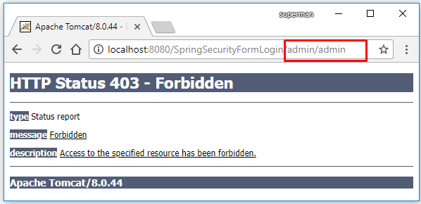 Spring MVC - Security dùng nhiều trang login (multiple form login)