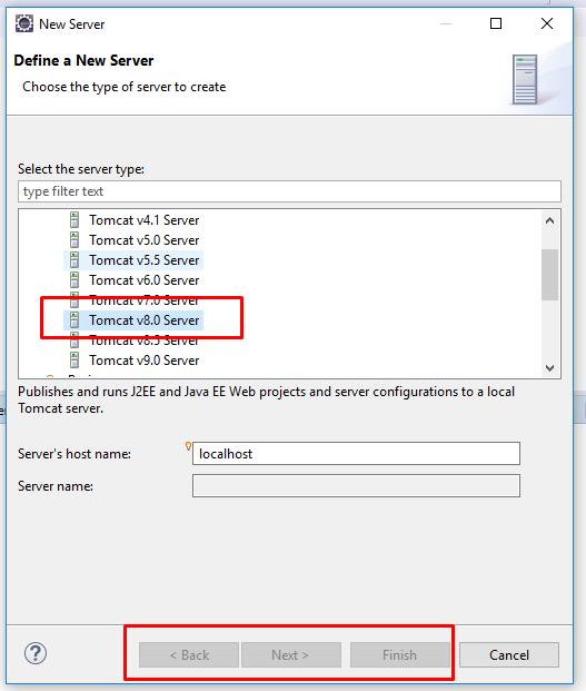 Lỗi không thể thêm server tomcat sau khi xóa