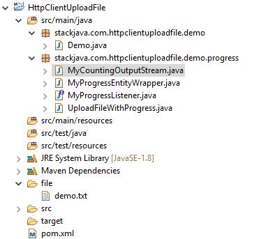Code ví dụ upload file bằng Java với HttpClient