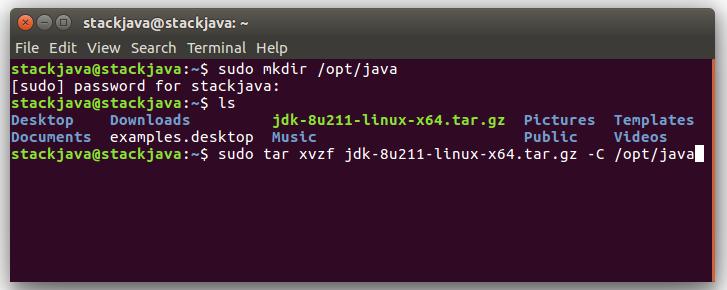 Cài đặt Java, JDK trên Ubuntu (Linux) bằng file tar gz