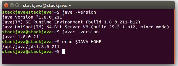 Cài đặt Java, JDK trên Ubuntu (Linux) bằng file tar.gz