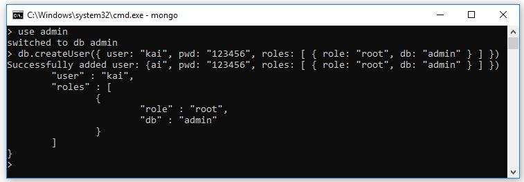 Tạo user/roles, phân quyền người dùng trên MongoDB