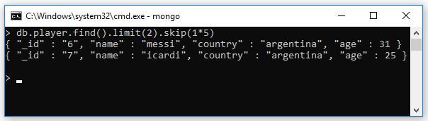 Phân trang trong MongoDB (skip(), limit() paging trong MongoDB)