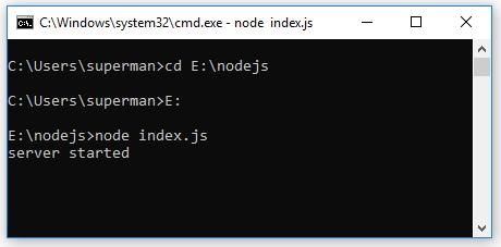 Code ví dụ Node.js HTTP Module - Tự học Node.js