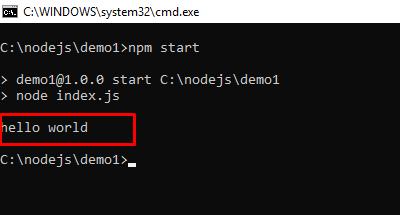 Tạo Node.js project bằng npm