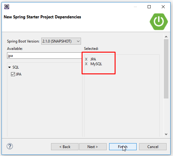 Code ví dụ Spring Boot Data JPA @Query