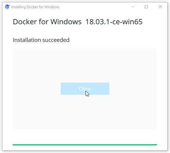 Cài đặt docker trên windows 10 không cần docker toolbox