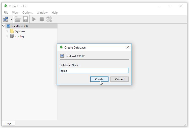 Cài đặt và sử dụng Robo 3T (RoboMongo) trên Windows - STACKJAVA