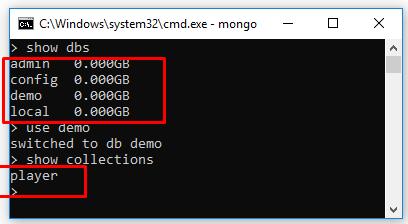 Code ví dụ Java kết nối MongoDB - list, xóa database