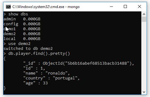 Insert, tạo mới document trong MongoDB