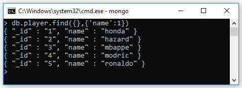 Projection trong MongoDB (SELECT field/column trong MongoDB)
