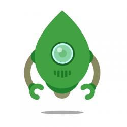 robo3t logo, robomongo logo