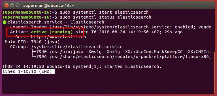 Hướng dẫn cài đặt Elasticsearch trên Ubuntu 16.04