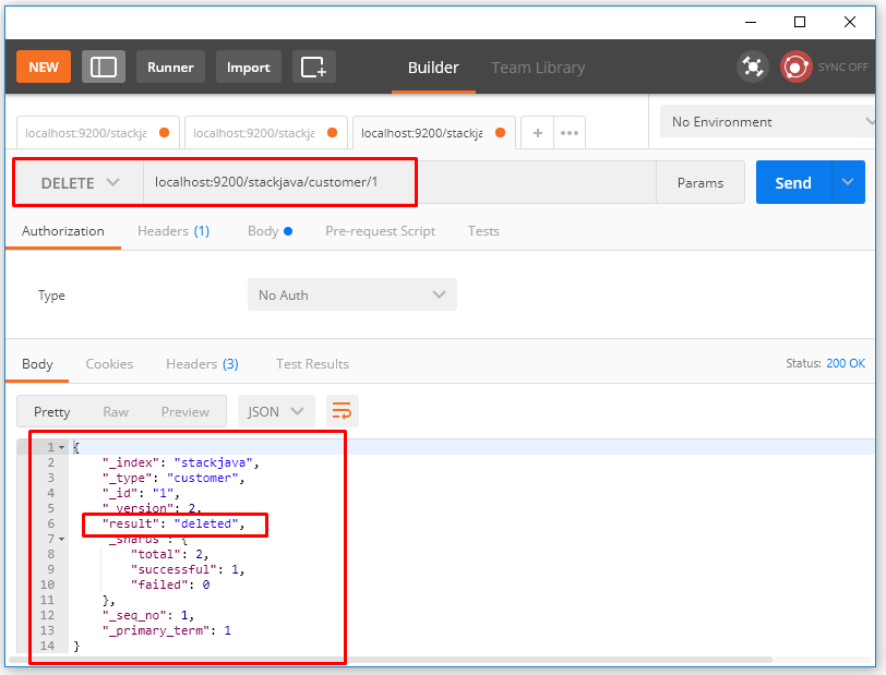API xóa dữ liệu – Delete document trong Elasticsearch