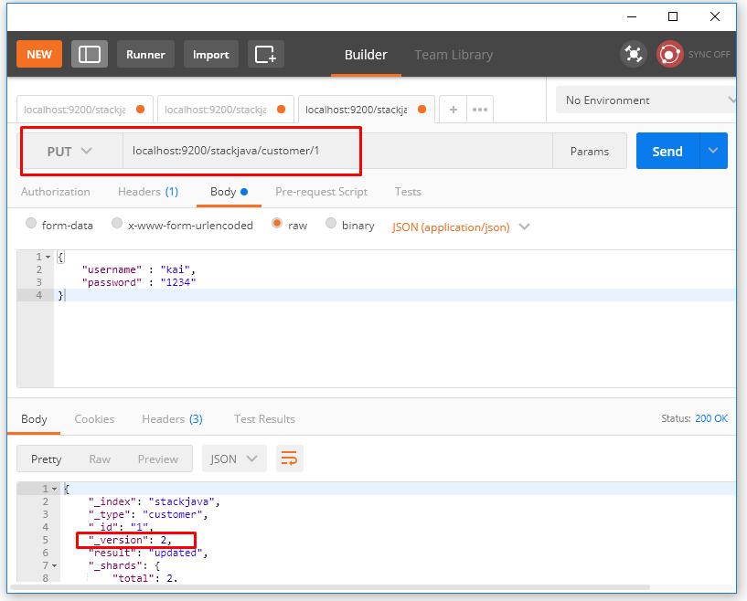 API cập nhật dữ liệu – Update document Elasticsearch