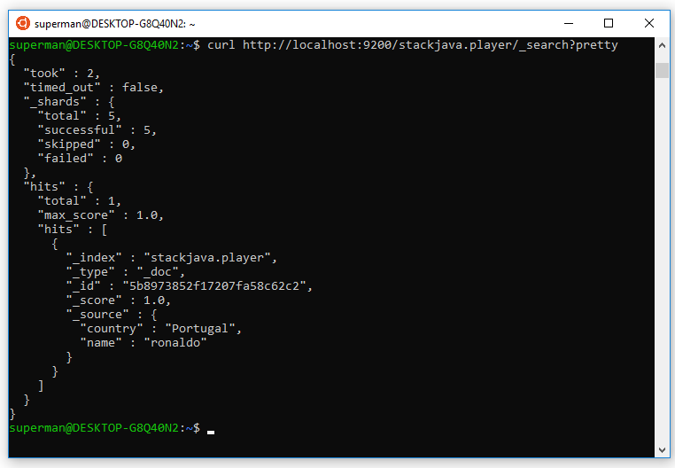 hiển thị dữ liệu ở elasticsearch - demo monstache