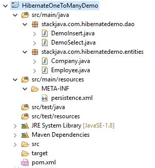 Code ví dụ Hibernate One To Many (@OneToMany, @ManyToOne)