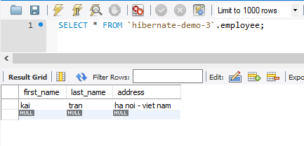 Demo Insert đối tượng với khóa chính nhiều hơn 1 field