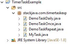 Code ví dụ Java đặt lịch với Timer, TimerTask