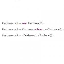 Các cách khởi tạo đối tượng trong Java (Java Constructor)