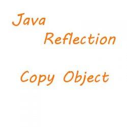 Code ví dụ Java Reflection, Clone Object, Copy Object