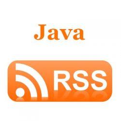 Code ví dụ Java đọc RSS Feed (Java RSS Reader)