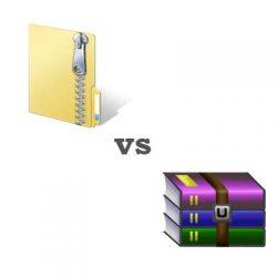 Sự khác nhau giữa định dạng file zip và rar