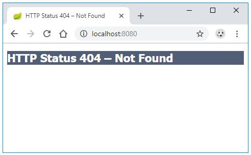 Spring Boot tùy chỉnh trang Whitelabel Error Page