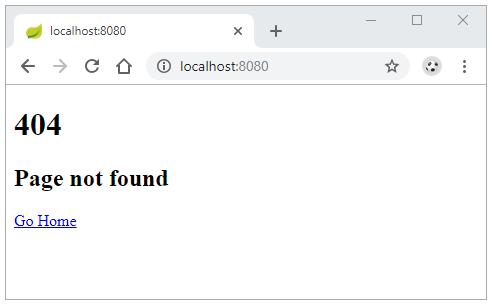 Ví dụ spring boot xử lý lỗi 404