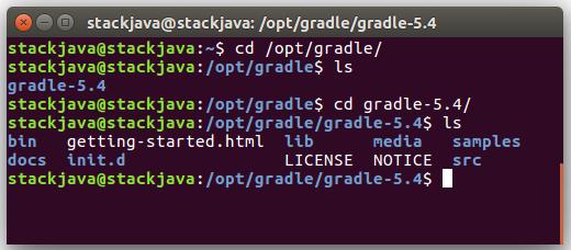 Hướng dẫn cài đặt Gradle trên Ubuntu (Linux)