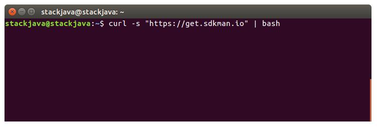 Hướng dẫn cài đặt SDKMan trên Linux (Ubuntu 16.04)